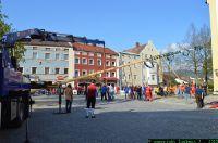 Maibaum aufstellen Stadt Viechtach